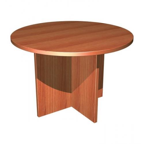 Круглый стол для переговоров ФАКТОР d1000*750 (бук)