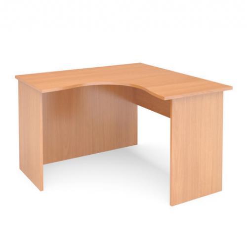 Стол угловой левый ФАКТОР 1600*1200/600*750 (бук)